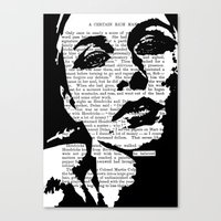 He Believed  Canvas Print