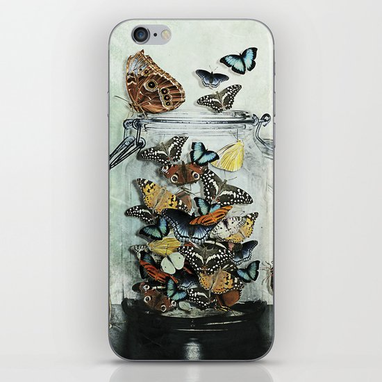 Butterfly Jar iPhone & iPod Skin