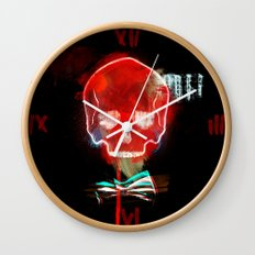 cool_skull Wall Clock