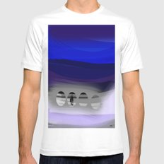 summer love  Mens Fitted Tee SMALL White