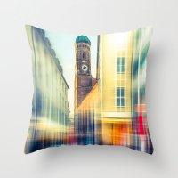 Frauenkirche - Munich - … Throw Pillow