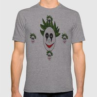Jokuh! Mens Fitted Tee Athletic Grey SMALL