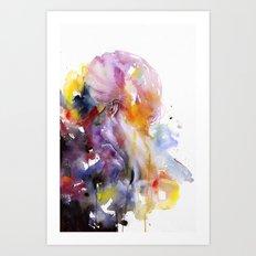 the listener Art Print