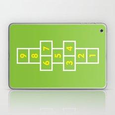 Hopscotch Green Laptop & iPad Skin
