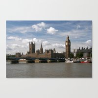 Houses of Parliament, London, UK Canvas Print