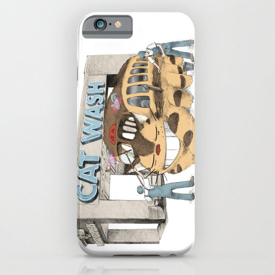 Cat Wash iPhone & iPod Case