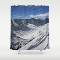 Blue Lakes Shower Curtain