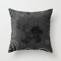 It Never Ends Throw Pillow