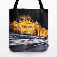 Flinders Street Station Tote Bag