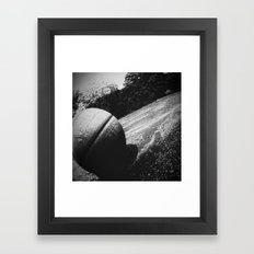Basketball III Framed Art Print