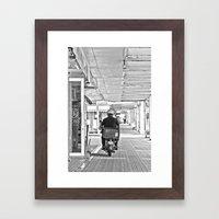 郵便配達  Yūbin Hai… Framed Art Print