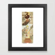 Fly Above Framed Art Print