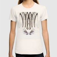 Lights Mirror Image IV Womens Fitted Tee Natural SMALL