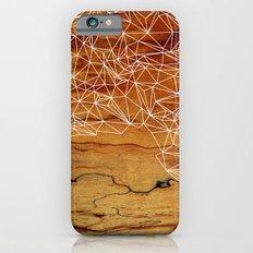 Wooden Wireframe iPhone 6 Slim Case