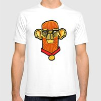 Cymankee Mens Fitted Tee White SMALL