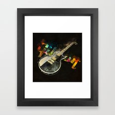 Come on Feel the Noise (Gibson Lp) Framed Art Print