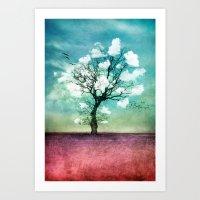 ATMOSPHERIC TREE | Pick … Art Print