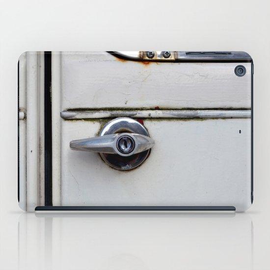 Rusty door iPad Case