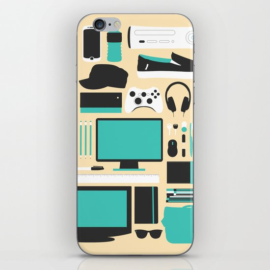 Life iPhone & iPod Skin