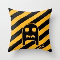 The Strange & Scary Adventures of Smee Throw Pillow
