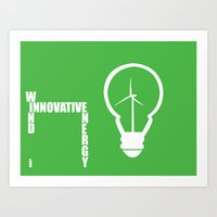 Innovative Energy: BULB Art Print