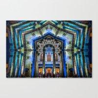 Kaleidoscape: Guadalajara Canvas Print