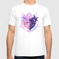 Baphomet (MIXED) Mens Fitted Tee White SMALL