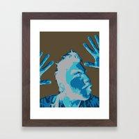 Manprint Framed Art Print