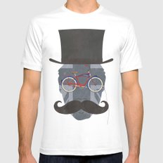 Bicycle Head Mens Fitted Tee White SMALL