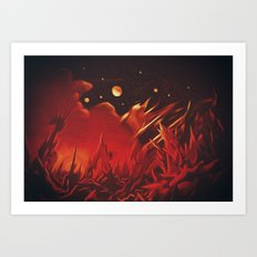 A View from Planet Hell Art Print