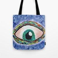 Technicolor Eye Tote Bag