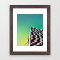 Ouest Palm Framed Art Print