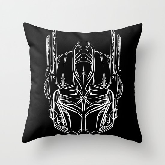 Pinstripe Prime Throw Pillow