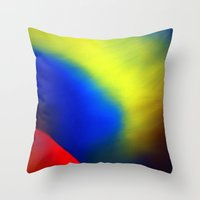 Aurore Boréale Throw Pillow