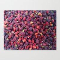 Berries in Paloquemao - Bayas en Paloquemao Canvas Print