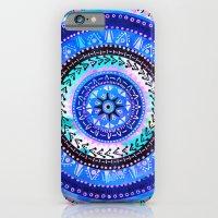 Mandala 2 {blue} iPhone 6 Slim Case