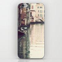 Boats In Venice iPhone & iPod Skin