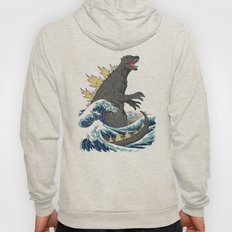 The Great Monster Off Kanagawa Hoody
