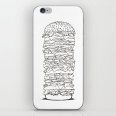 Giant Burger iPhone & iPod Skin