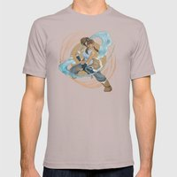 Korra Mens Fitted Tee Cinder SMALL