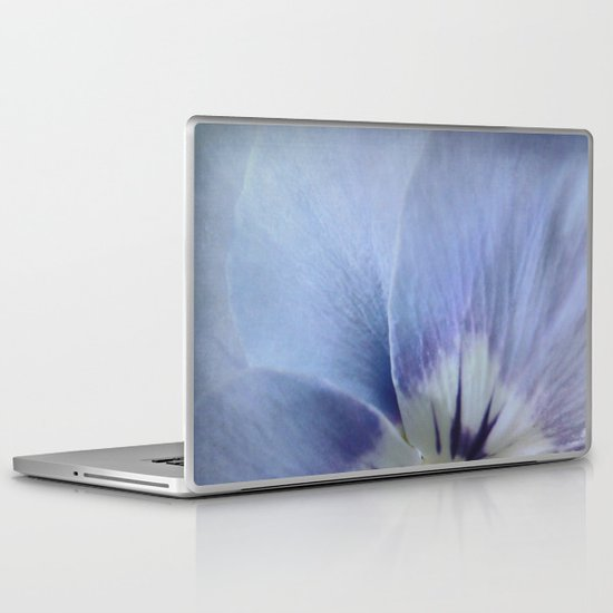 Wild Pansy Laptop & iPad Skin
