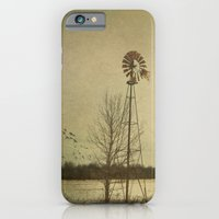 iPhone & iPod Case featuring While the wind moans a dirge to a coyote's cry... by Curt Saunier