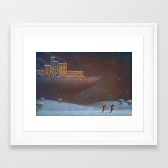 The Boat Framed Art Print