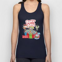 Power Puffs Cereal Unisex Tank Top