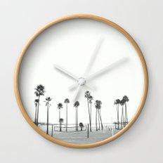 Bleached Beach Wall Clock