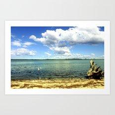 King Lake - Australia Art Print