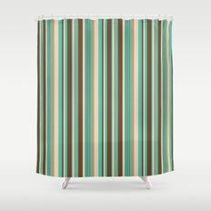 Stripe 4 Shower Curtain