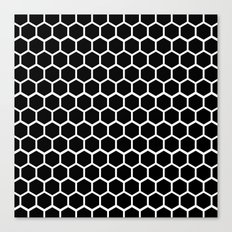 Graphic_Cells Black&White Canvas Print