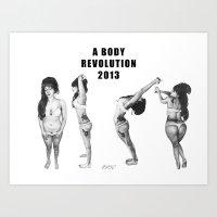A Body Revolution 2013 Art Print