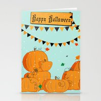 Halloween Pumpkins Stationery Cards